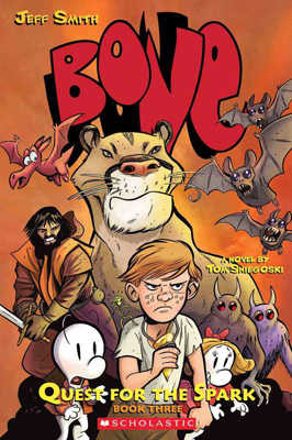 Bone Quest for the Spark Book Three by Tom Sniegoski and Jeff Smith 